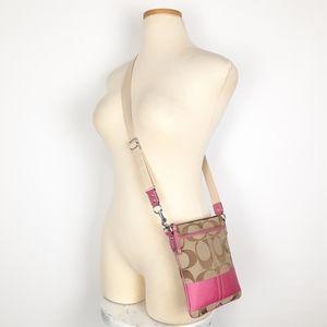 Coach Monogram Crossbody Bag